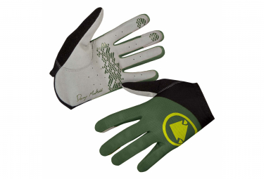 Pair of Gloves Endura Hummvee Lite icon Green For t