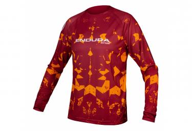 Endura MT500 Rust Long Sleeve MTB Jersey