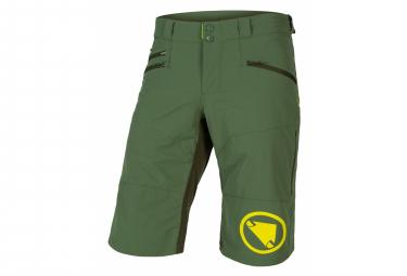 Shorts De Mtb Endura Singletrack Ii Green Para T S