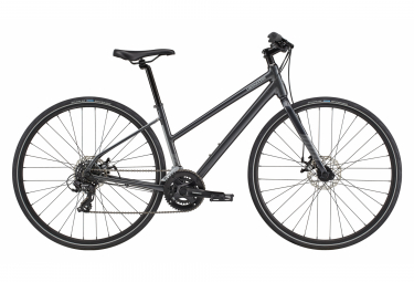 V lo de Ville Fitness Femme Cannondale Quick Women's 5 Remixte Shimano Tourney 7V 700 mm Graphite Gray 2020