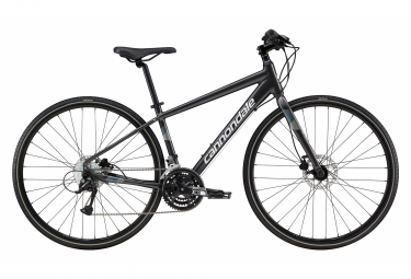 Cannondale Quick Mujer 5 Mujeres Fitness Bike Shimano Acera / Altus 9S 700 mm Gris grafito 2019