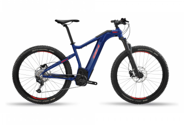 BH Atom-X Pro Shimano SLX 12v Blue / Red Electric semi-rigida Mountain Bike 2020