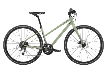 Cannondale Quick Women's 3 Remixte Women Fitness Bike Shimano Acera/Altus 9S 700 mm Agave Green 2020