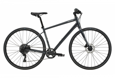 Cannondale Quick 4 Fitness Bike microSHIFT Advent 9S 700 mm Graphite Grey 2020