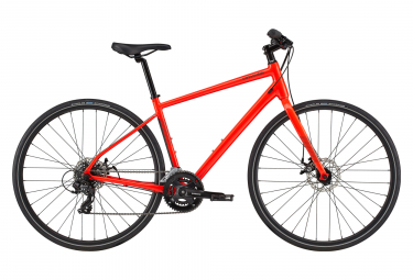 Cannondale Quick 5 Fitnessrad Shimano Turnier 7S 700 mm Acid Red