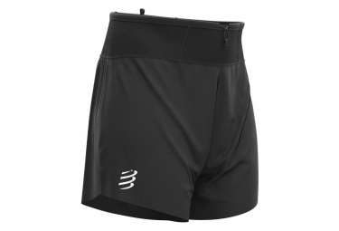 Short Compressport Trail Racing Short Black