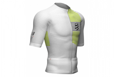 Maillot manches courtes Compressport Tri Postural Blanc