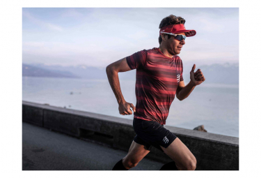 Maillot manches courtes Compressport Performance Rouge