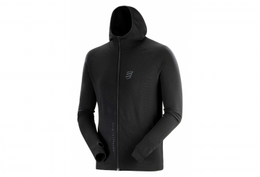 Compressport 3D Thermo Seamless Black Edition 2020 Black Hoodie