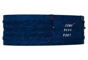 Ceinture Compressport Free Belt Pro Bleu