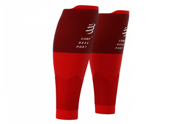 Compression sleeves Compressport R2 v2 Red