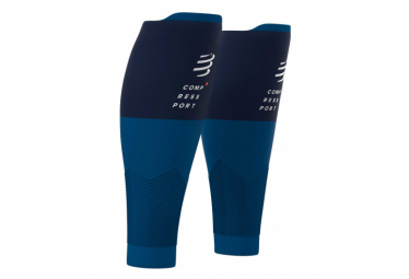 Manchons de compression Compressport R2v2 Bleu