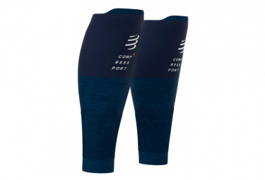 Manchons de compression Compressport R2 v2 Bleu