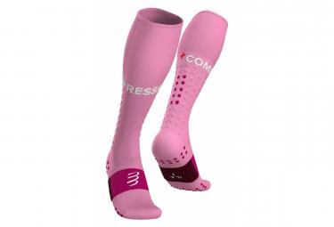 Compressport Full Socks Run Pink