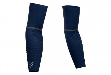 Compressport ArmForce Ultralight Blue Arm Warmers