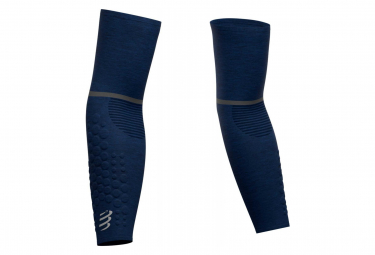 Paire de Manchettes Compressport ArmForce Ultralight Bleu