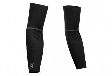 Paire de Manchettes Compressport ArmForce Ultralight Noir