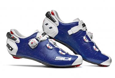 Par De Zapatos Sidi Wire 2 Carbon Blue   White 40