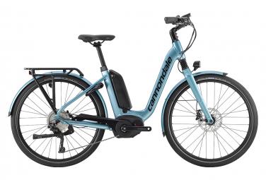 Cannondale Mavaro Neo City 1 Hybrid-Stadtfahrrad Shimano Deore 10S 500 Wh 27,5 '' Glacier Blue 2019