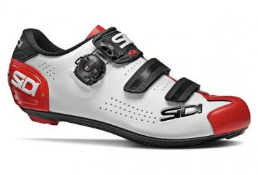Paire de Chaussures Sidi Alba 2 Blanc/Rouge