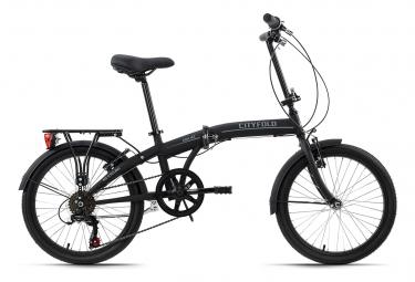 Vélo pliant 20'' Cityfold noir 6 vitesses TC 27 cm KS Cycling