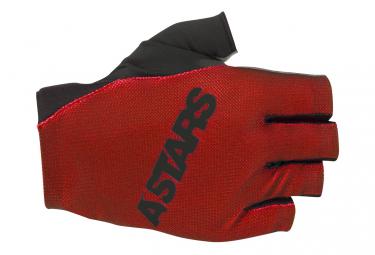 Alpinestars Ridge Plus Short Finger Glove Bright Red Dark Shadow  S