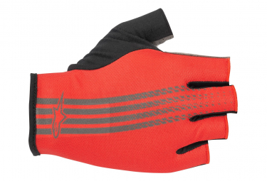 Alpinestars Ridge Short Finger Glove Bright Red Dark Shadow  M
