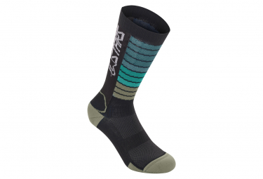Alpinestars Drop Socks 22 Black   Yellow  41 43 1 2