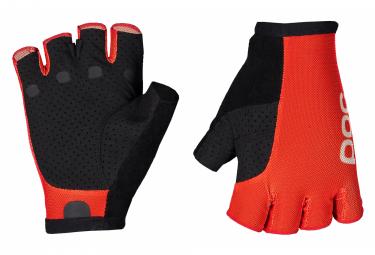 Poc Essential Road Light Short Gloves Prismane Red