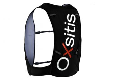 Oxsitis Atom 4 Mujer Trail Running Bag Negro Azul Xs S