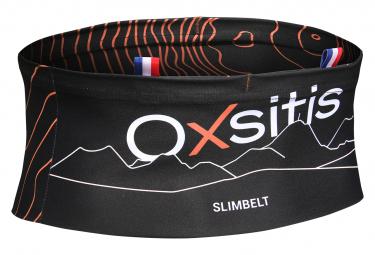 Cinturon Oxsitis Slimbelt Running Mujer Negro Coral L