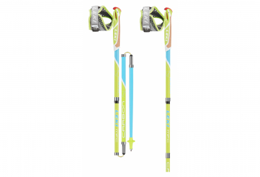 B tonos de Trail Running Leki Micro Flash Carbon Green Blue