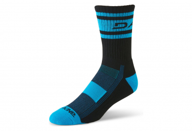 DAKINE Step Up Socks Black Cyan
