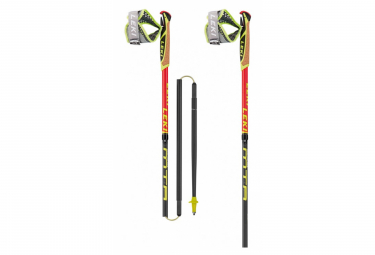 Trail Running Poles Leki Micro Trail Race Black Red