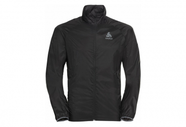 Odlo Zeroweight Dual Dry Chaqueta Impermeable Negro Hombres M