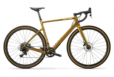 Gravel Bike Cerv lo Asp ro Disc Sram Apex 1 11V Olive / Dune 2020
