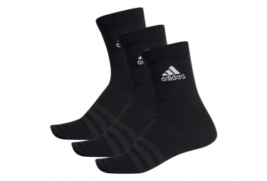 Socks 3 pairs Adidas Light Crew Black