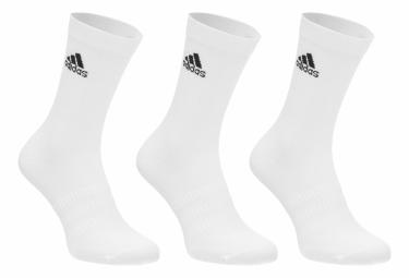 Pair of Socks (3 pairs) Adidas Light Crew White