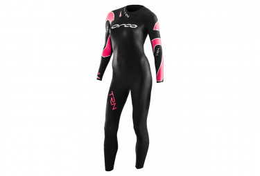 ORCA Neoprene Wetsuit Woman TRN THERMO FULLSLEEVE Black