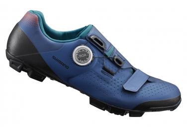 Zapatillas MTB Shimano XC501 Azul Marino Mujer