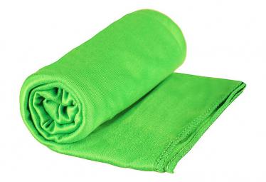 Toalla sea to summit bolsillo   toalla de bolsillo verde xl