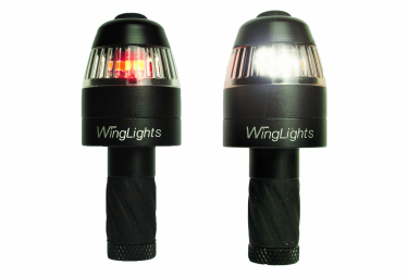 Image of Clignotants velo et lumiere signalistation winglights 360 mag