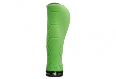 Fabric Ergo Lock On Green Handle