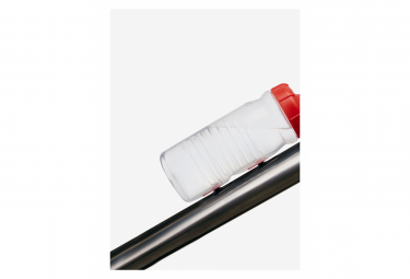 Bidon Fabric Cageless Bottle 600ml Rouge / Transparent