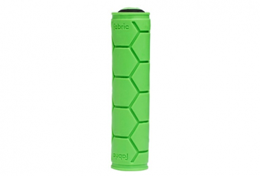 Fabric Silicone Slip On Grips Green
