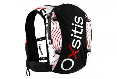 Oxsitis Pulse 12 Trail Running Bag Negro Rojo S