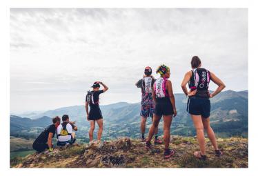 Sac de Trail Running Oxsitis Pulse 12 Femme Noir Rose