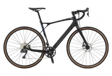 Gravel Bike GT Grade Carbon Pro Shimano Ultegra di2 11v Black 2020