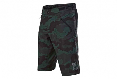 Pantalones Cortos Troy Lee Designs Skyline Camo Green 36