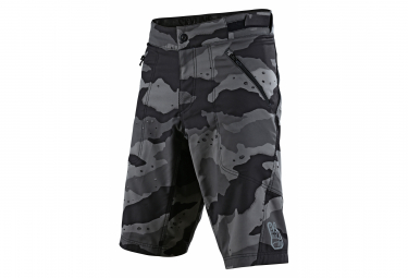 Troy Lee Designs Shorts Skyline Camo Gris Para Ninos 26